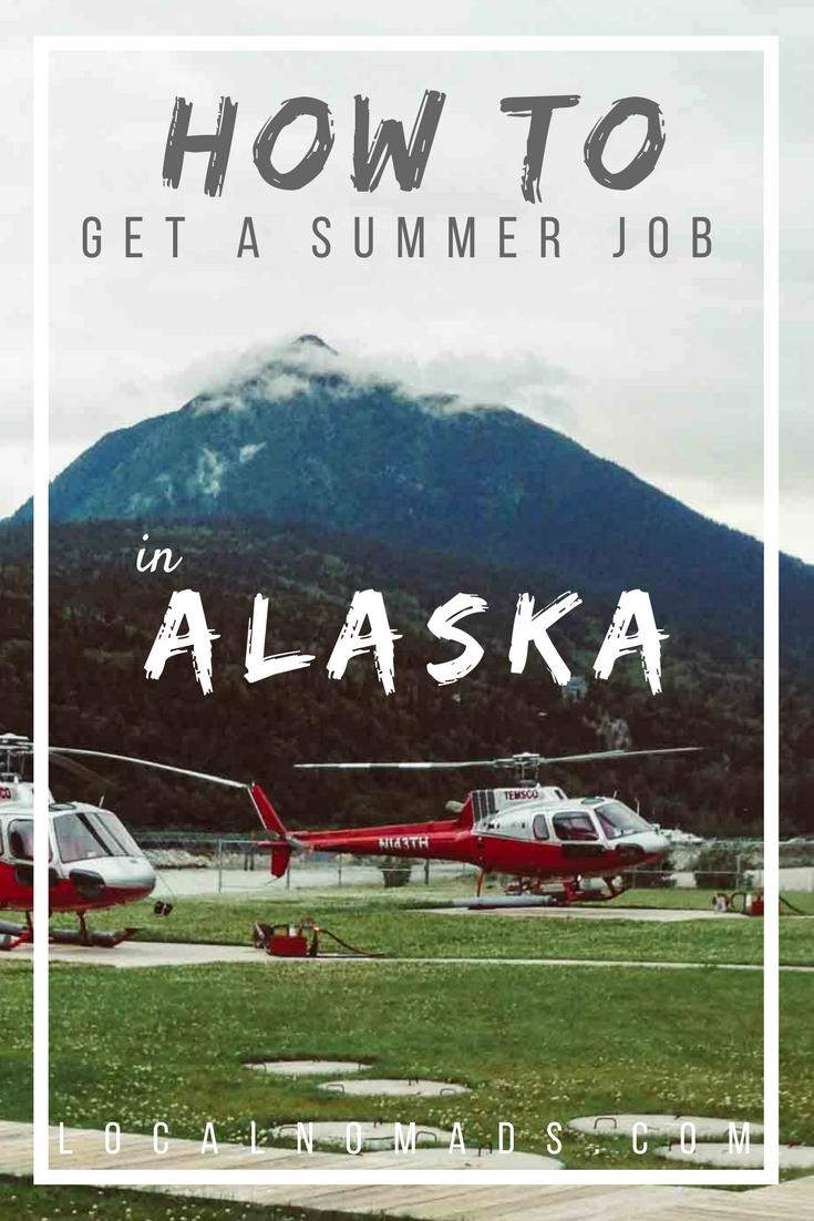 Summer Jobs Alaska