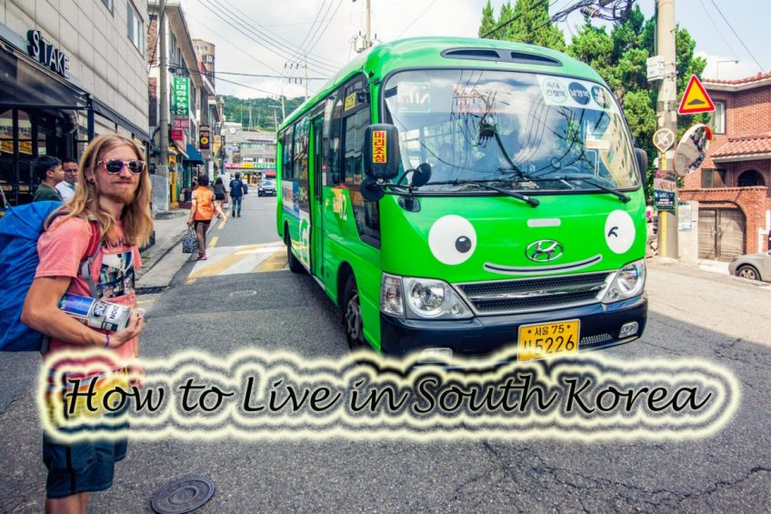 Guest Appearance: How to live in South Korea! LiveIn10Countries.com