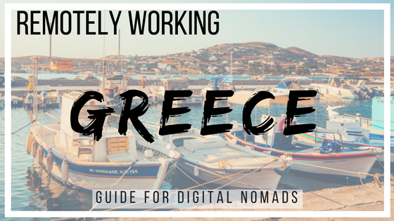 Local Nomads Digital Nomads Greece Guide