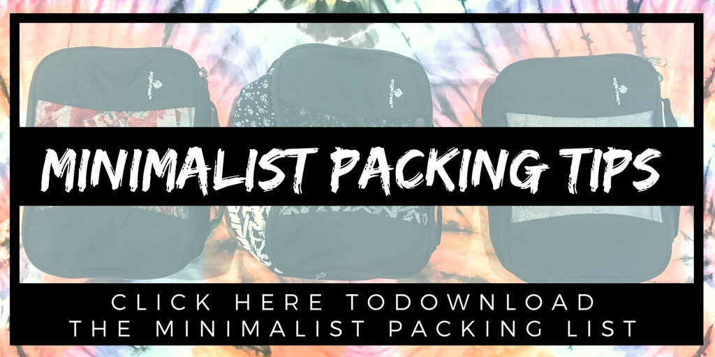 Minimalist Packing Digital Nomad