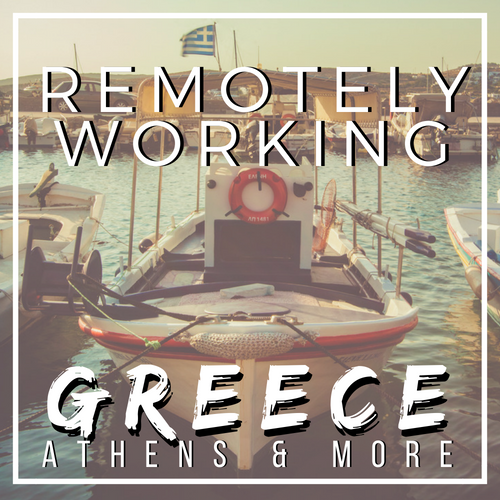 Greece Digital Nomads