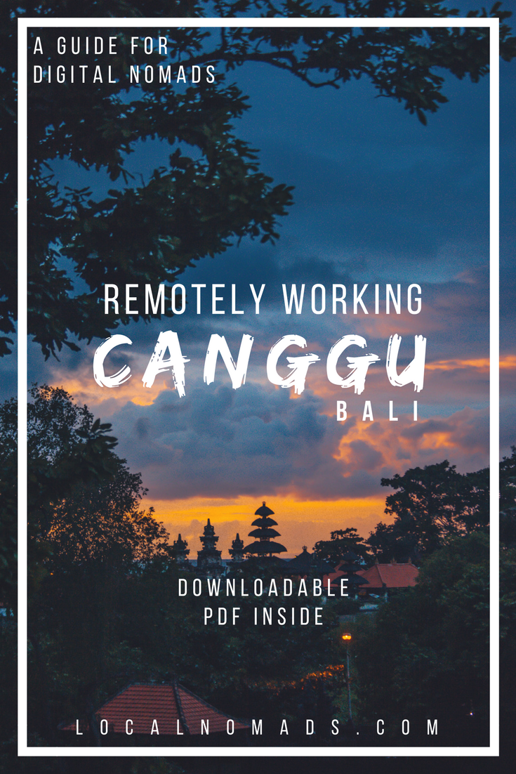 Canggu Digital Nomads