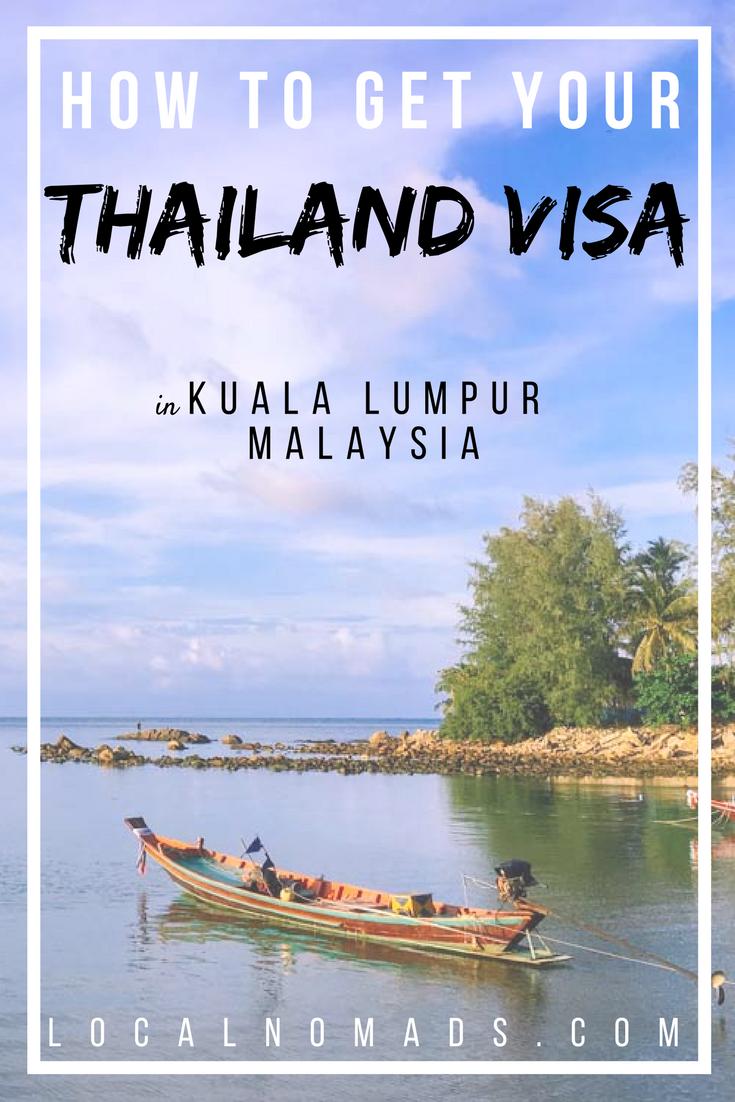 Get your Thailand Visa in Kuala Lumpur Malaysia