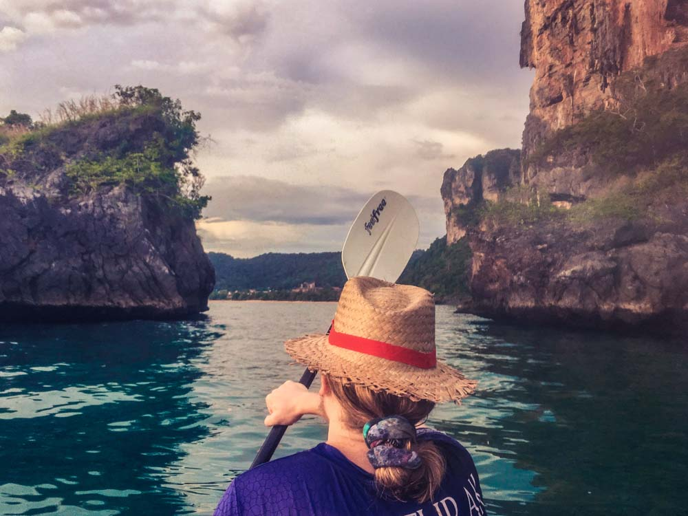 Krabi Thailand Kayaking Things to do in Krabi Ao Nang
