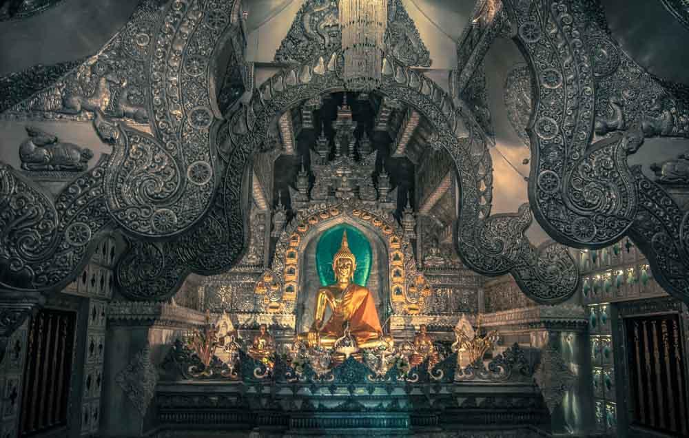 Silver Temple Chiang Mai Thailand