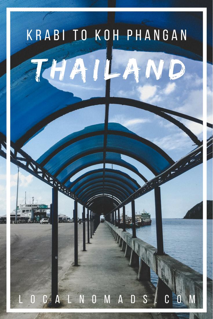 Krabi To Koh Phangan Thailand