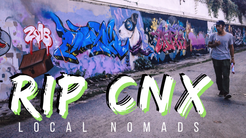 RIP CNX: Story of A Street Artist | Chiang Mai, Thailand [video]