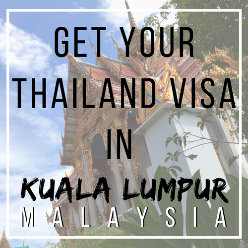 Thailand Visa in Malaysia