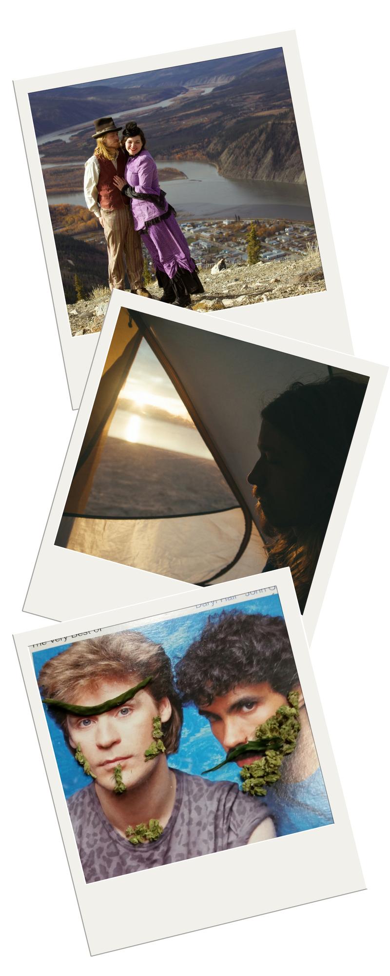 Local Nomads Polaroids