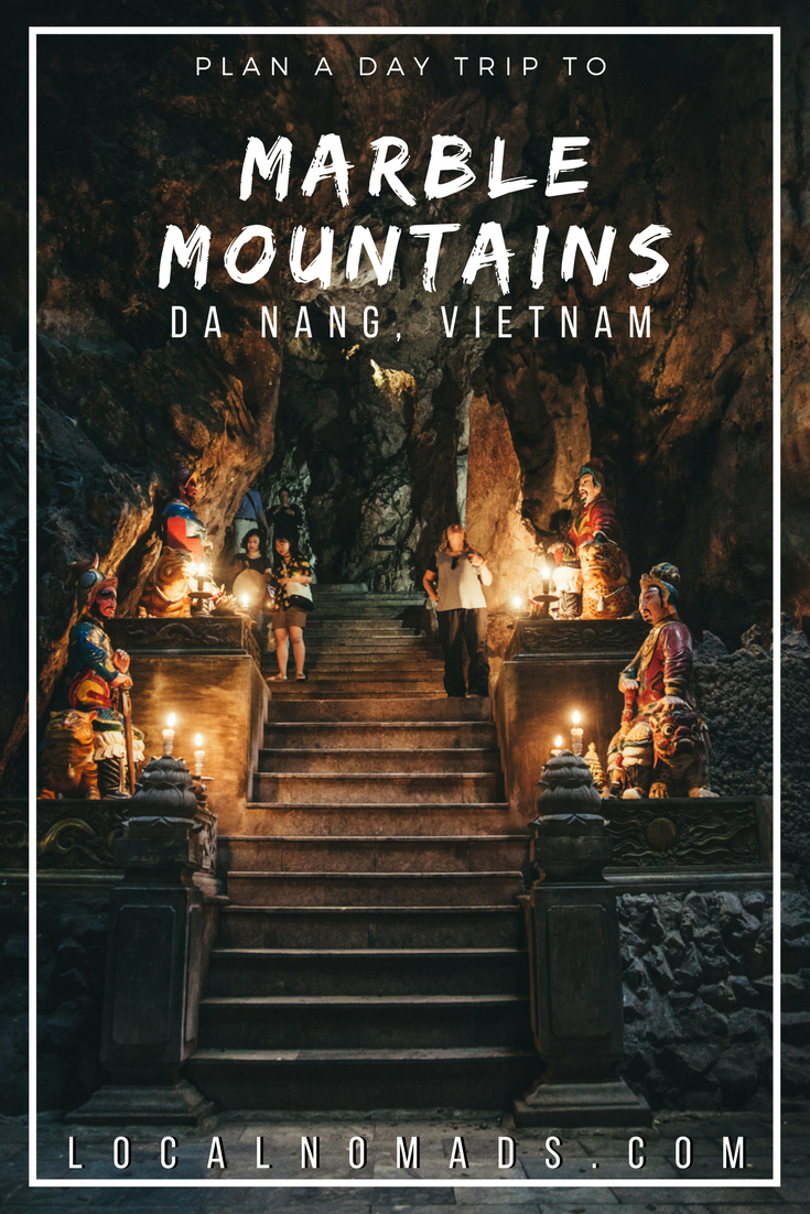 Pin this! Cave stairs, Marble Mountains Da Nang Vietnam