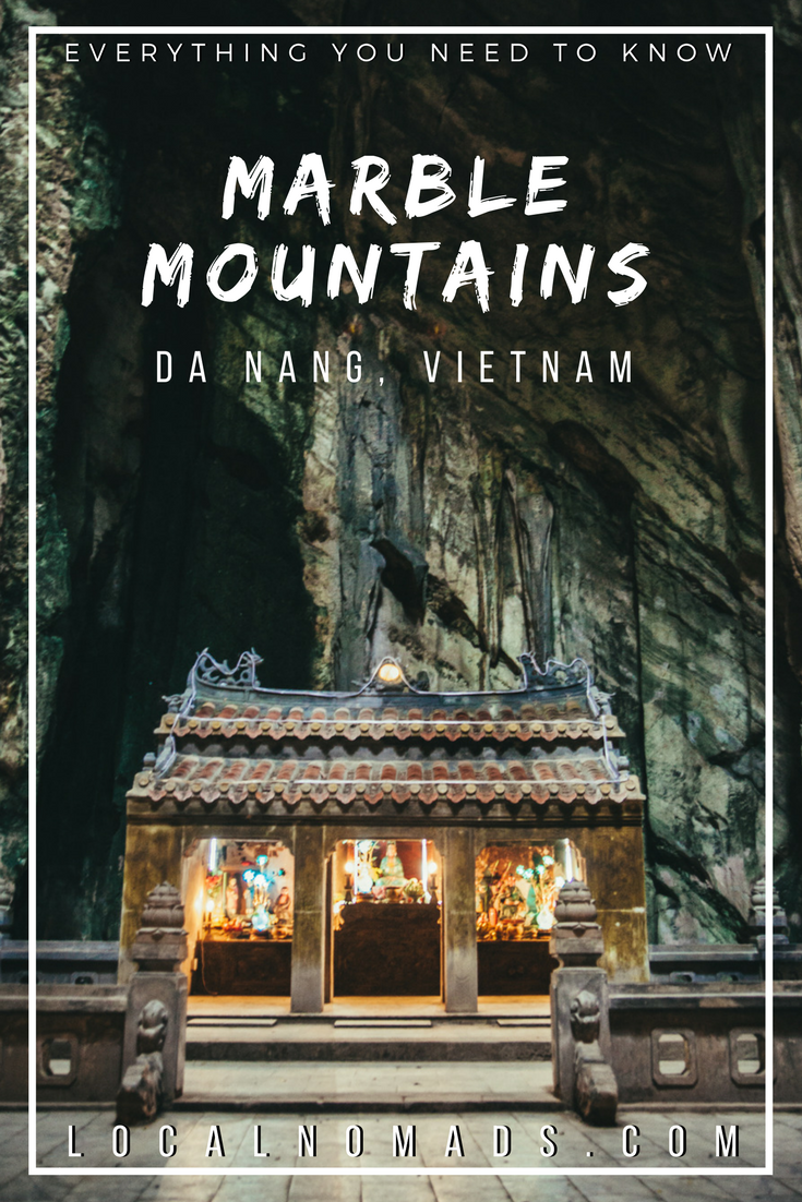 Pin this! Cave temple, Marble Mountains Da Nang Vietnam