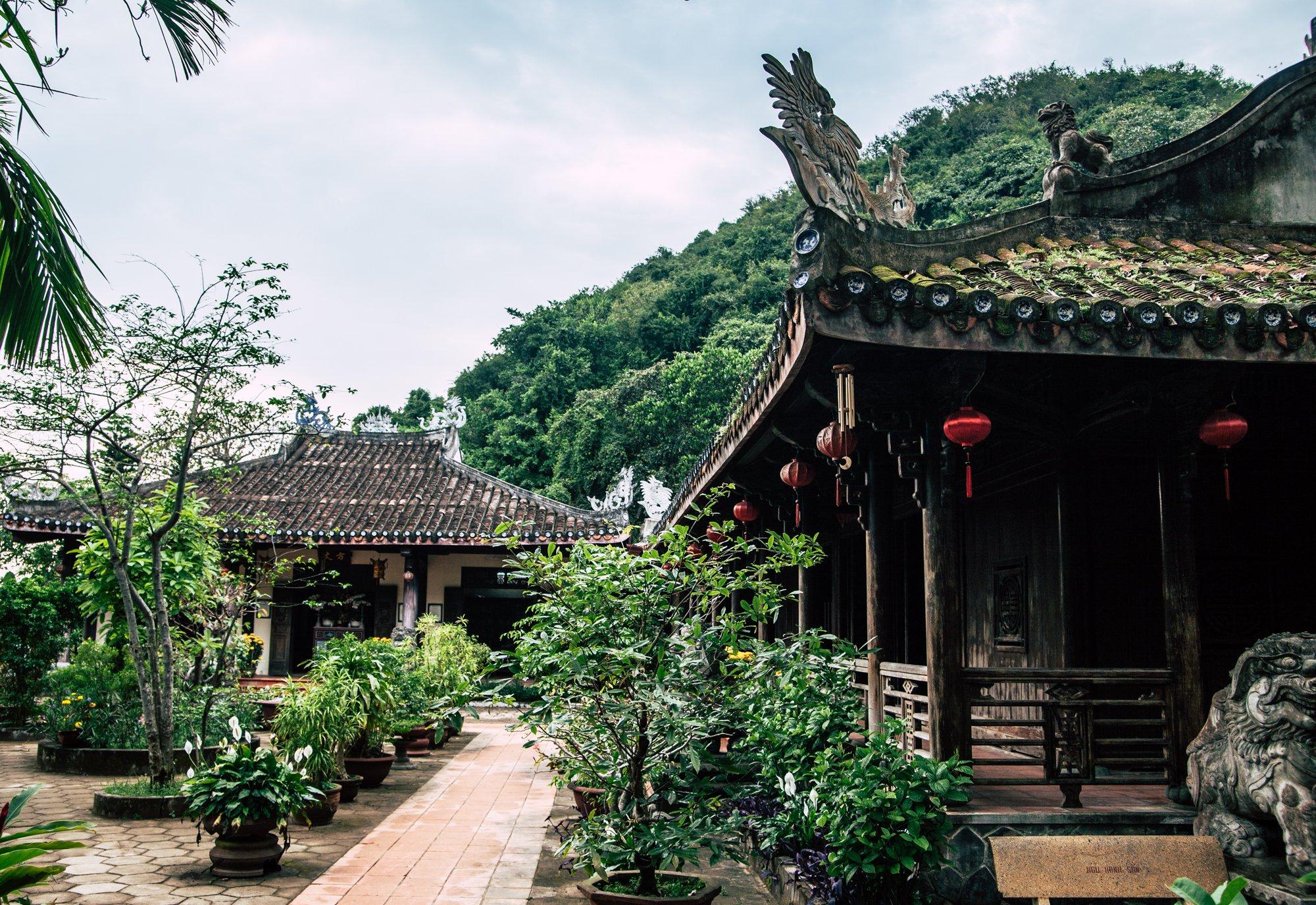 Marble Mountain Temple. Da Nang Vietnam
