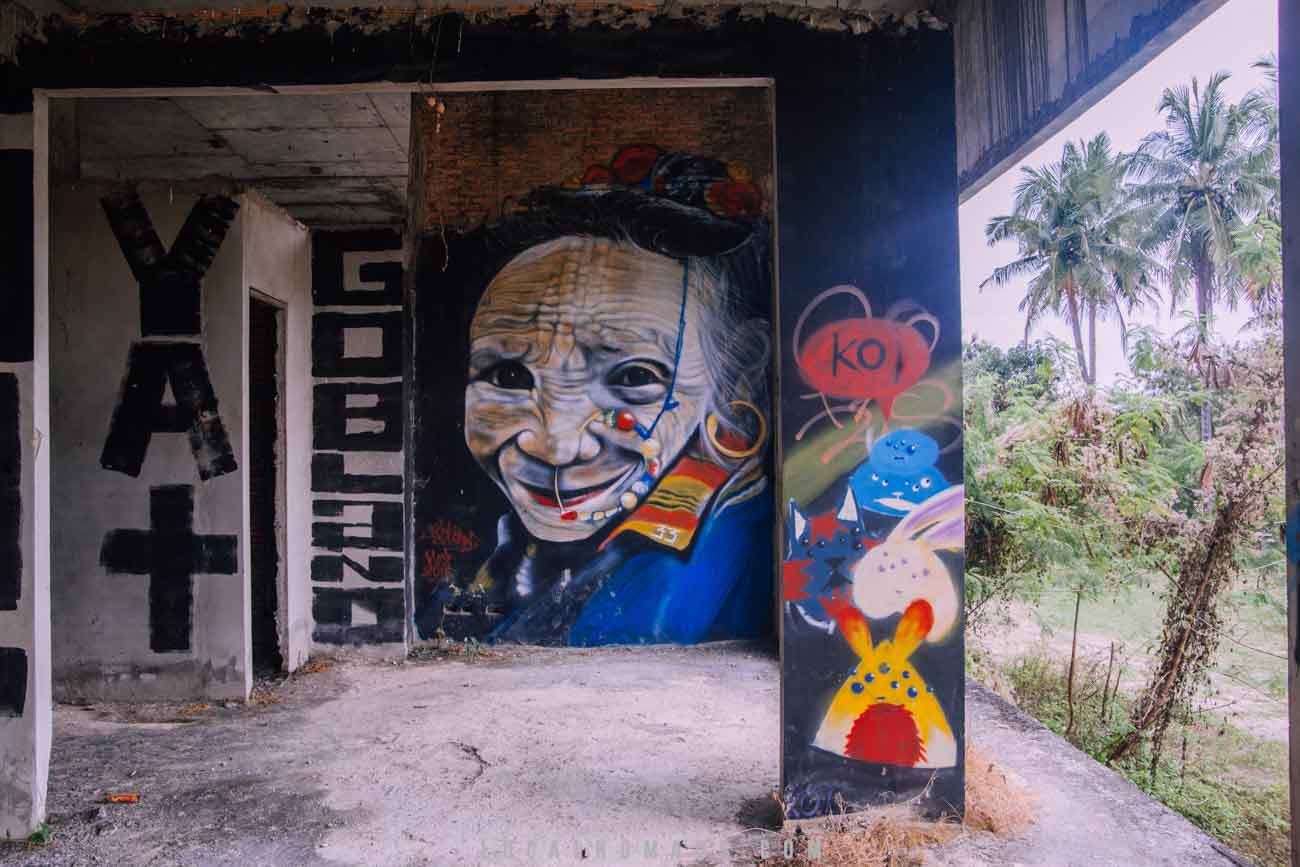 Abandoned Chiang Mai Meeting of Styles Street Art