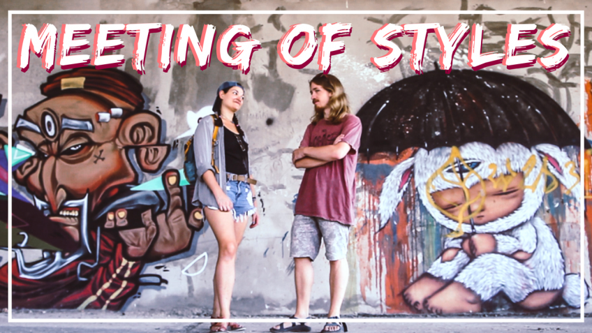 Exploring An Abandoned Building in Chiang Mai, Thailand | Meeting of Styles
