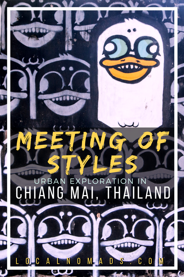 Abandoned Chiang Mai Meeting of Styles