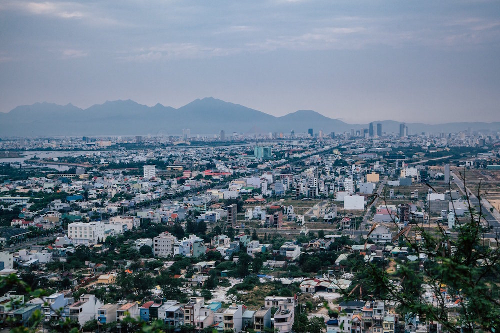View of Da Nang from Marble Mountain