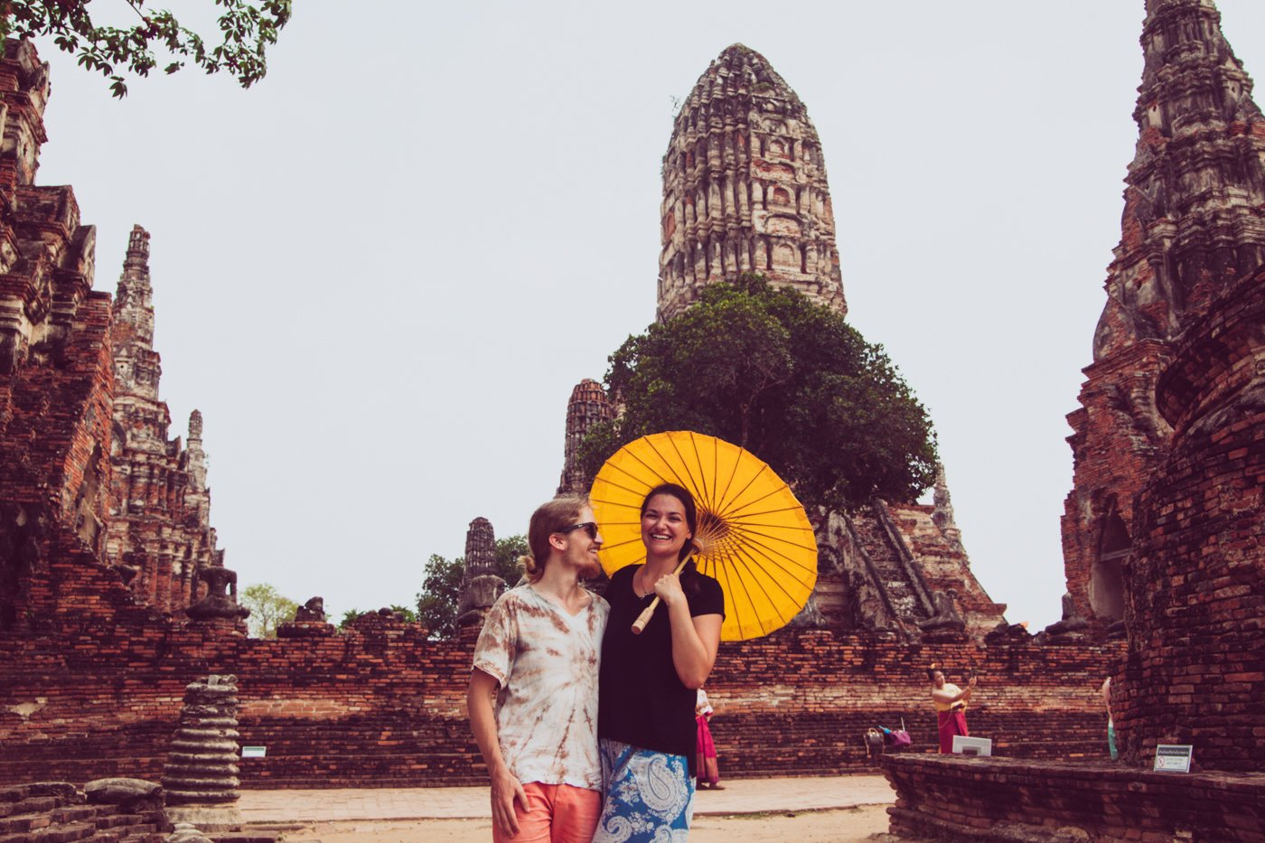 A day trip to Ayutthaya Thailand to get Sak Yant Tattoos and explore temple ruins