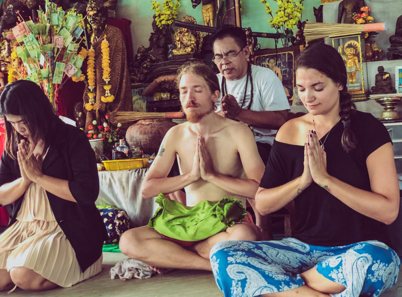 Meeting Ajarn Wao and Getting a Sak Yant Tattoo in Ayutthaya Thailand with Where Sidewalks End