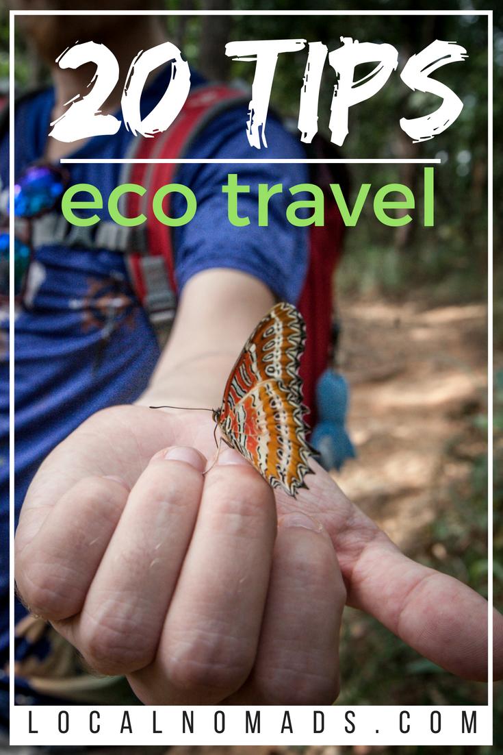 20 tips eco travel