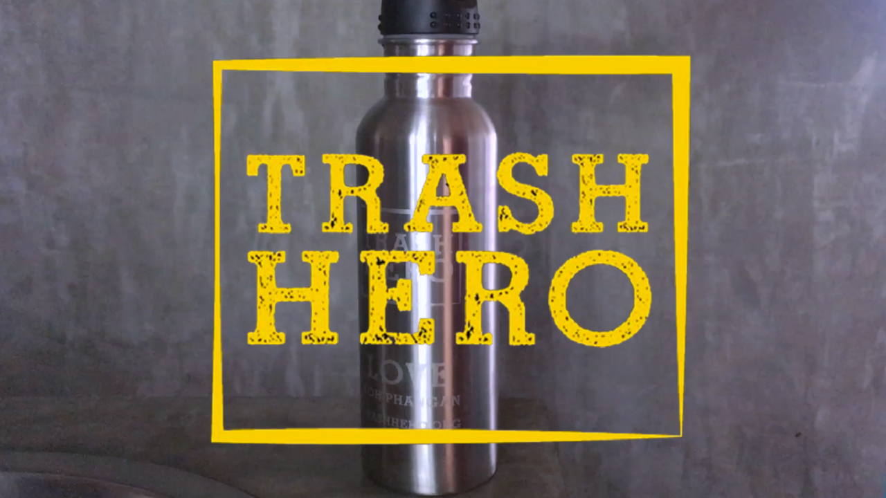 Trash Hero Koh Phangan Stainless Steel Bottle