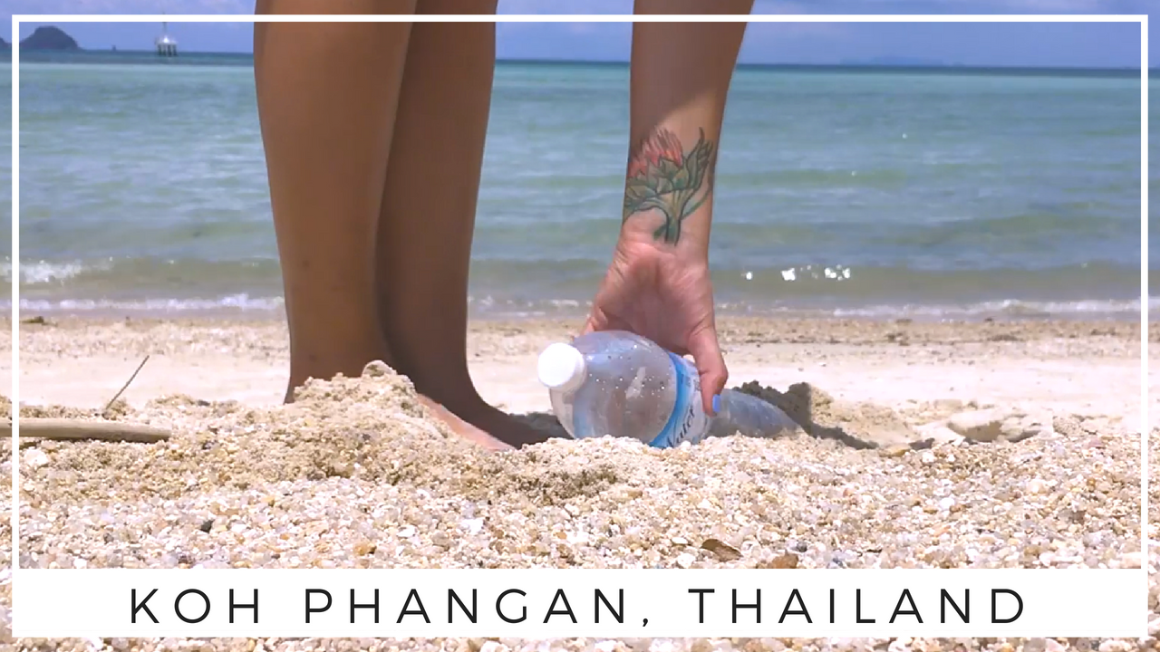 Reducing Plastic Waste with Trash Hero Koh Phangan, Thailand