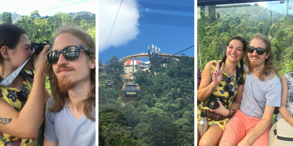 Riding the Cable Car at Ba Na Hills Da Nang