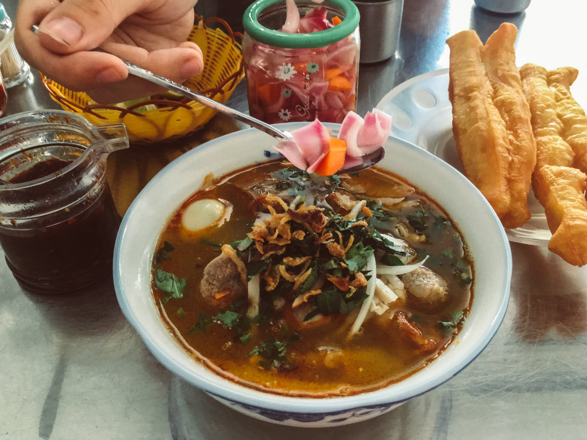 one of our favorite things to do in Da Nang is to taste the local noodle dishes