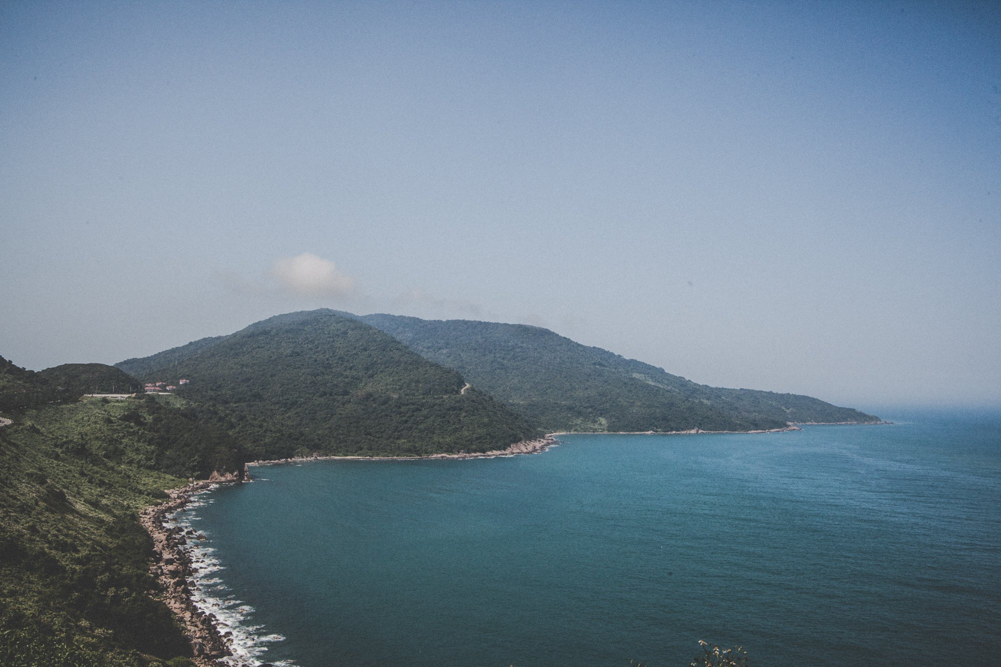 Ride a motorbike our to sin tra peninsula in Da nang for a day of wild exploration.