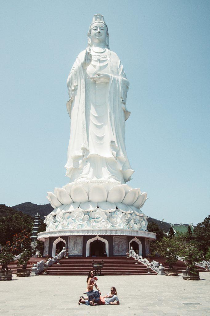 What to see in Da Nang. The Lady Buddha in Da Nang Vietnam