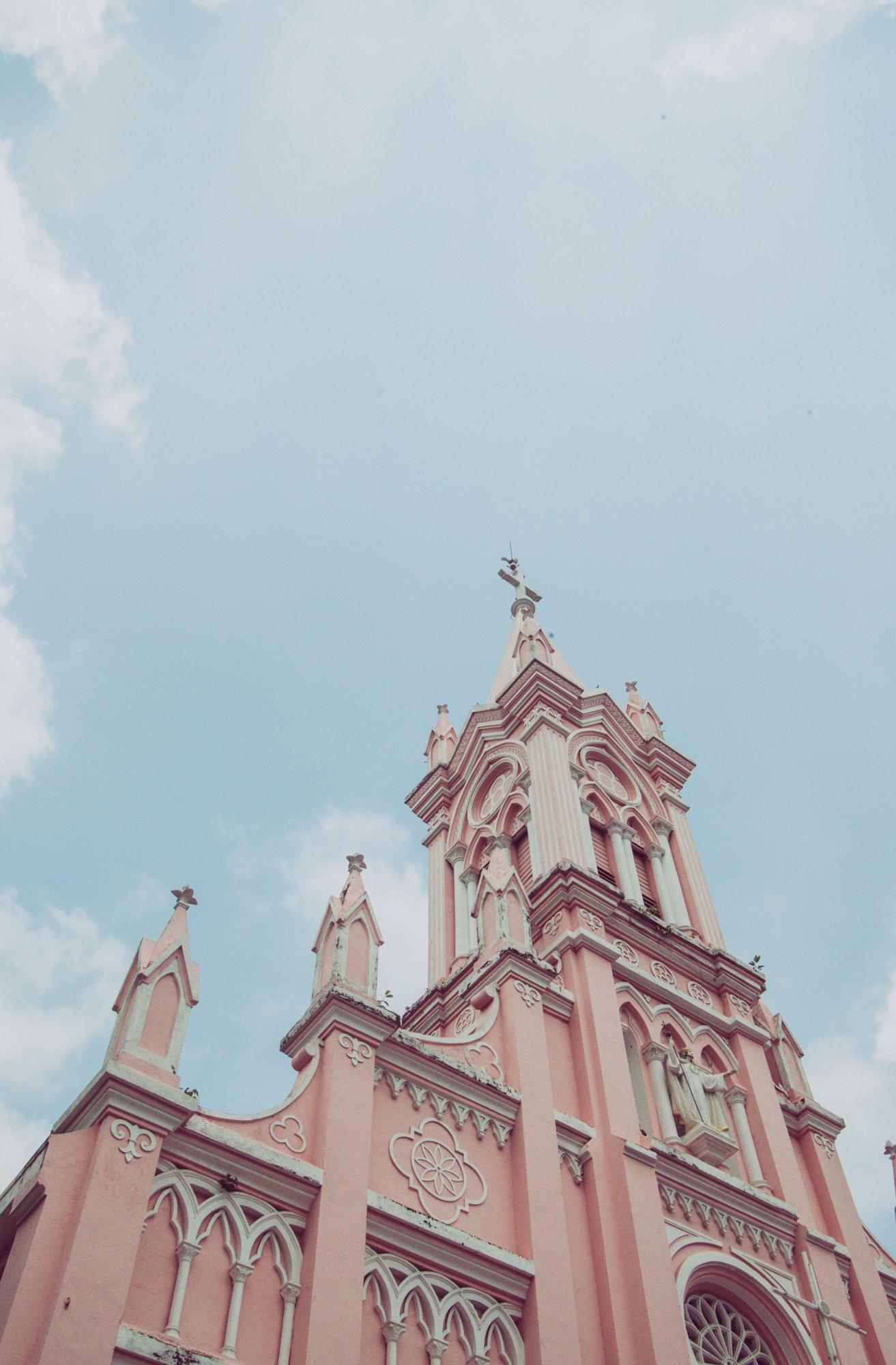 Da Nang Cathedral in Da Nang, Vietnam