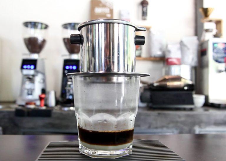 Vietnamese Coffee. Ca phe Sua Da