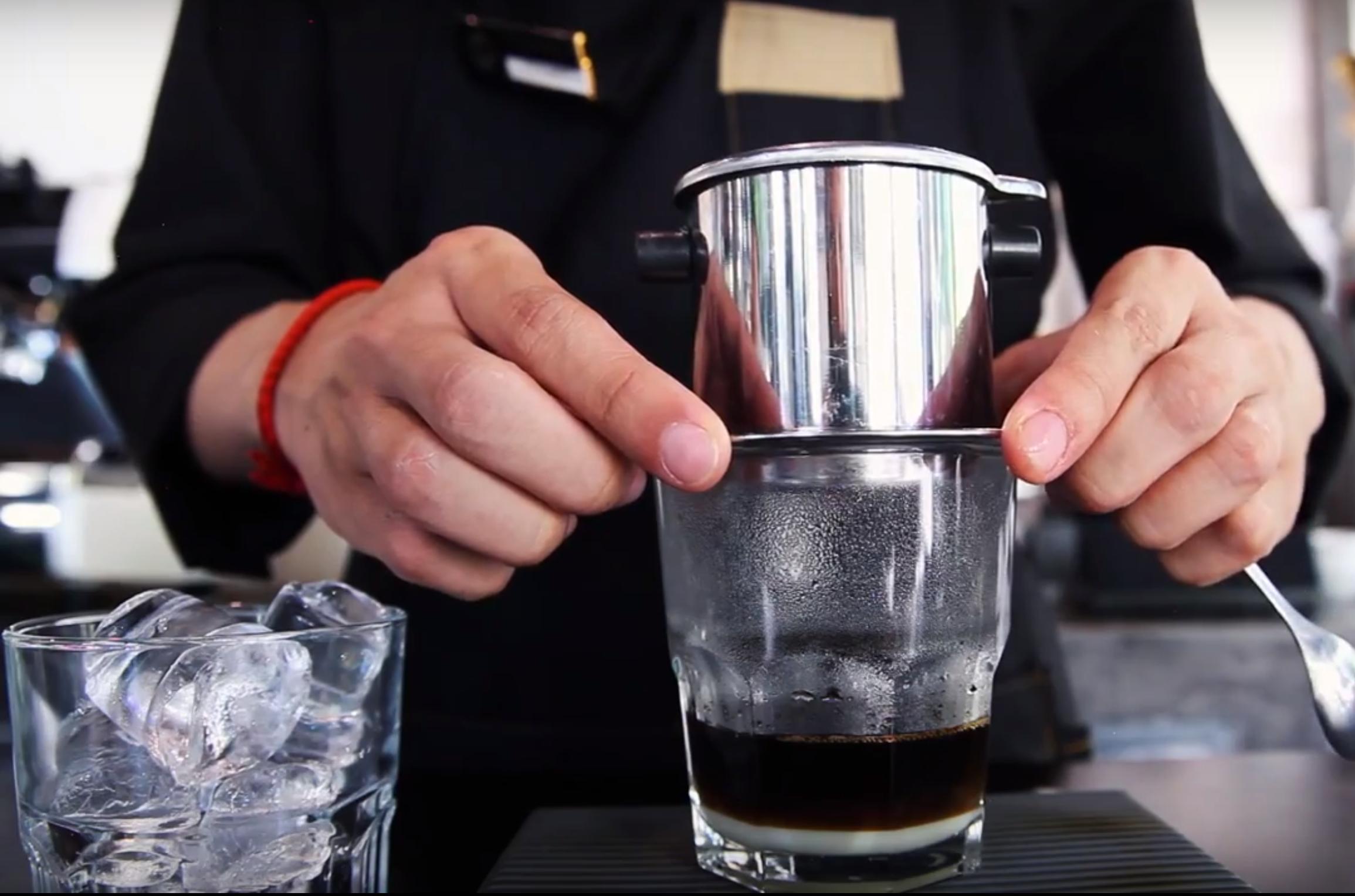 Vietnamese Coffee at Why Roastery in Da Nang Vietnam