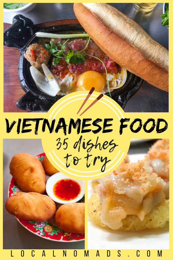 35 Vietnamese food Dishes to Try