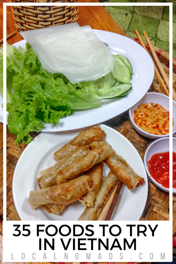 35 Vietnamese foods to try in Vietnam nem ran