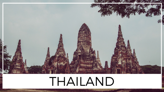 Thailand Destination Page