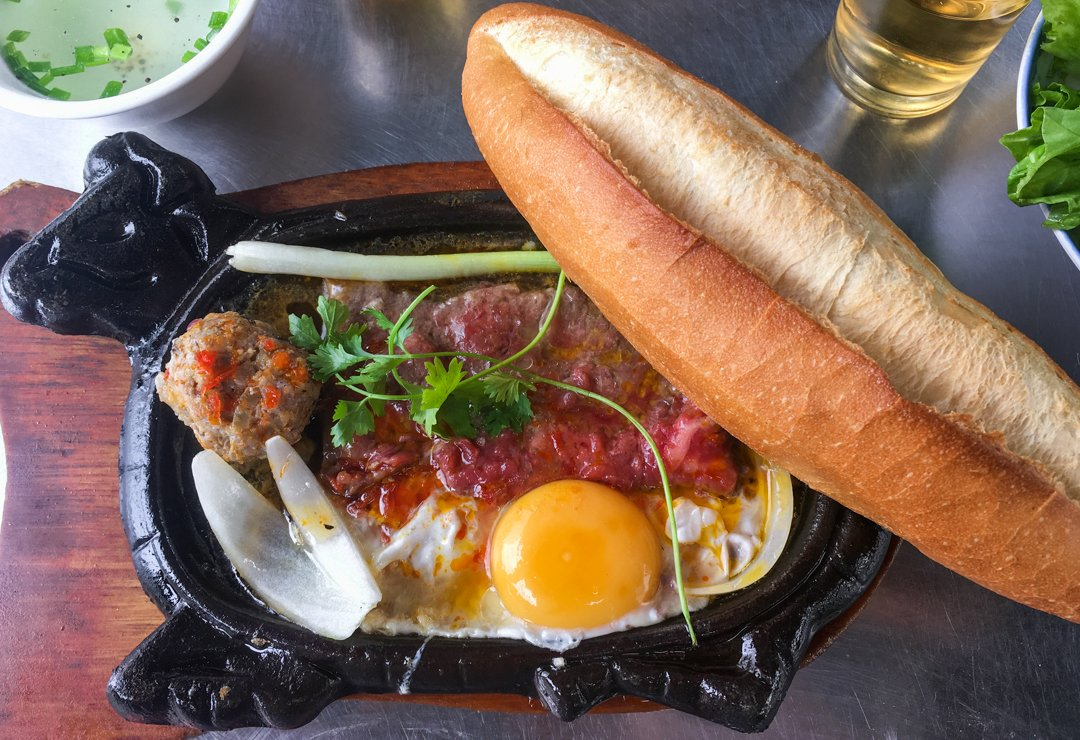 Bo Ne Vietnamese steak and eggs is one of the best vietnamese dishes you can have for breakfast lunch of dinner