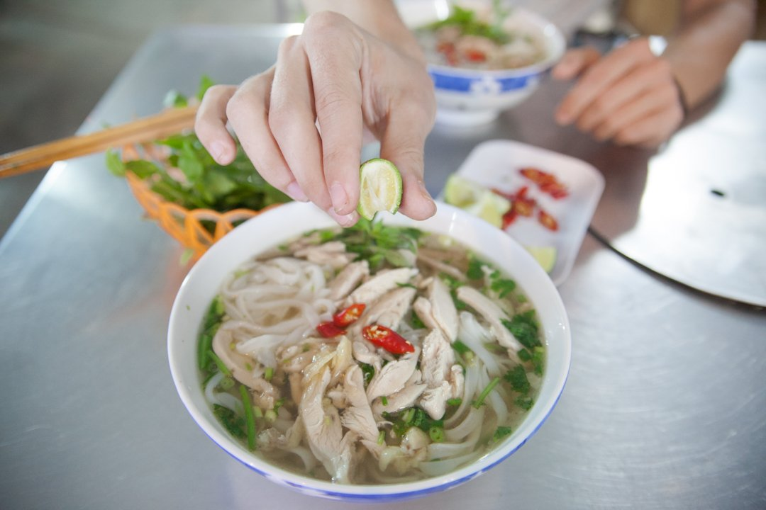 Northern Style Pho Ga (chicken) one of the most Popular Vietnamese Dishes