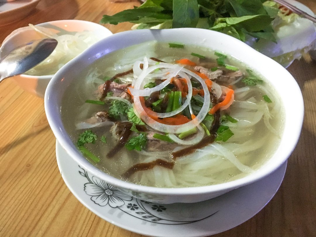 Southern Style Pho Bo (beef) one of the most popular Vietnamese Dishes