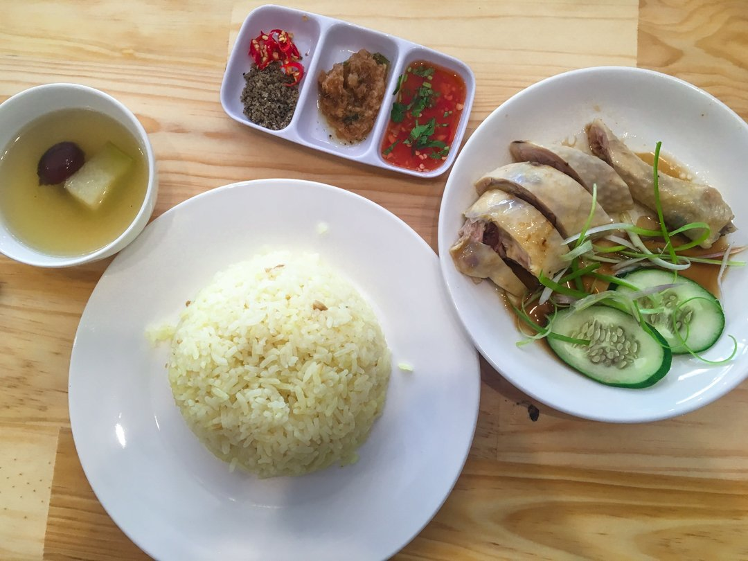 Com Ga is a Vietnamese food staple. Chicken as rice, is pretty basic, but very satisfying