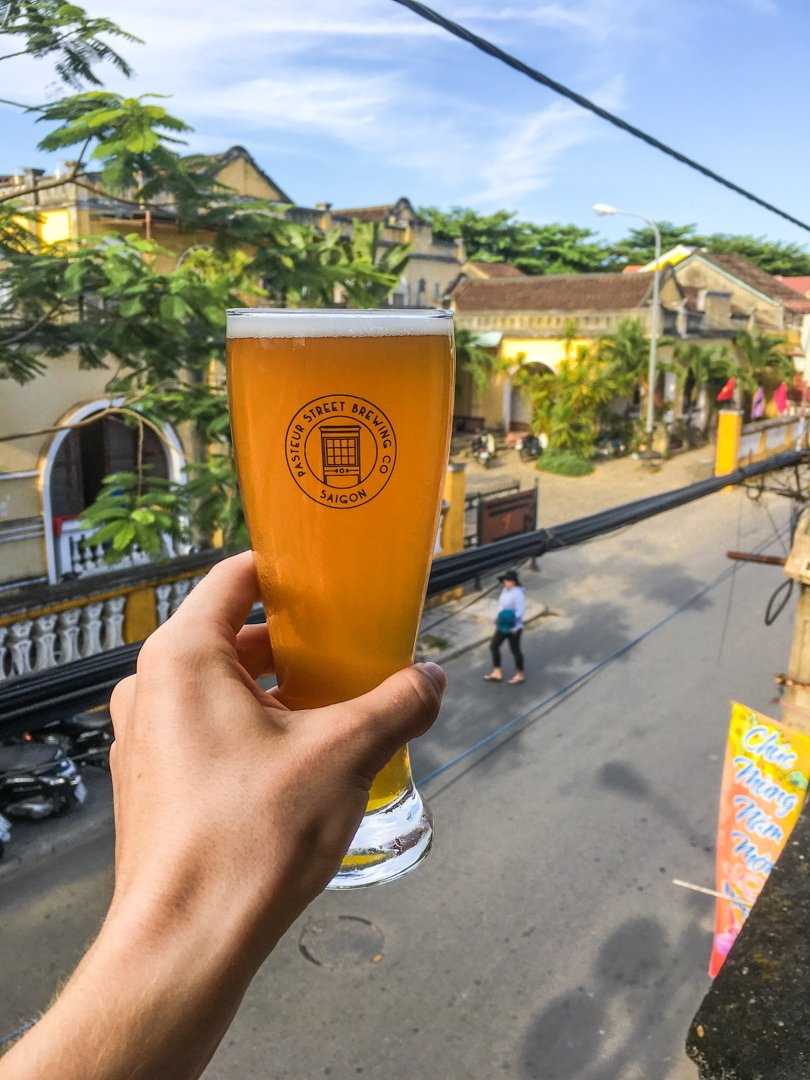 Jasmine IPA from Saigon's Pasteur Street Brewing Company