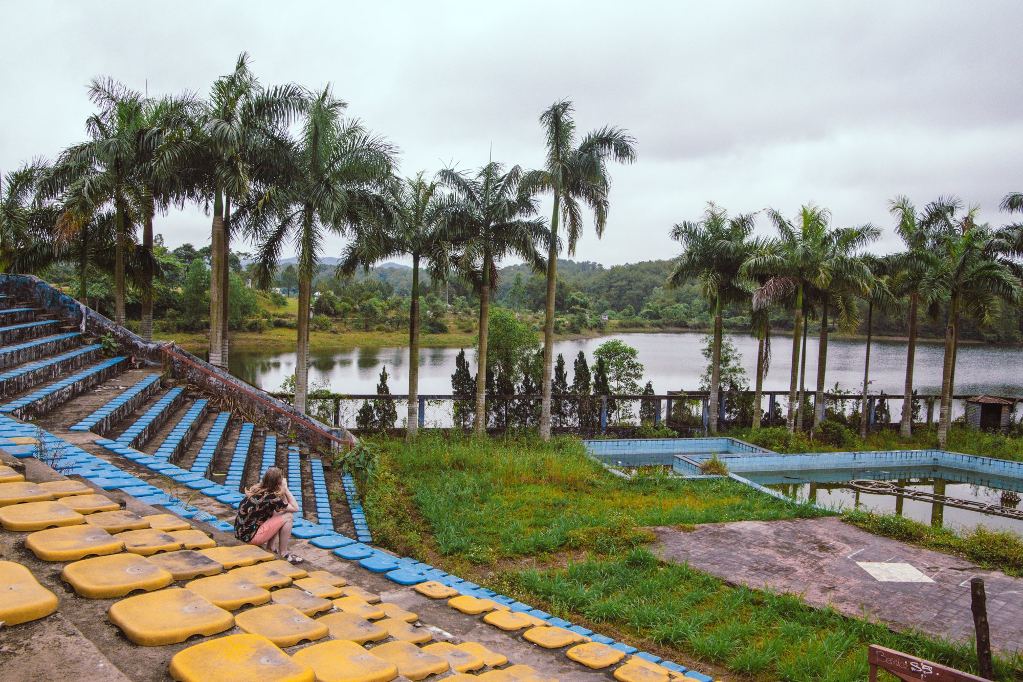 Exploring the Abandoned waterpark hue