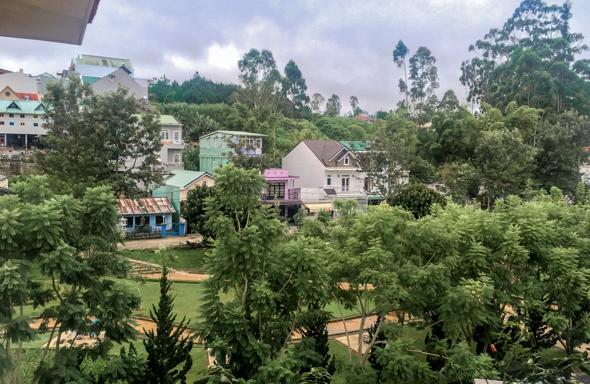 Our Neighborhood in Dalat, Vietnam