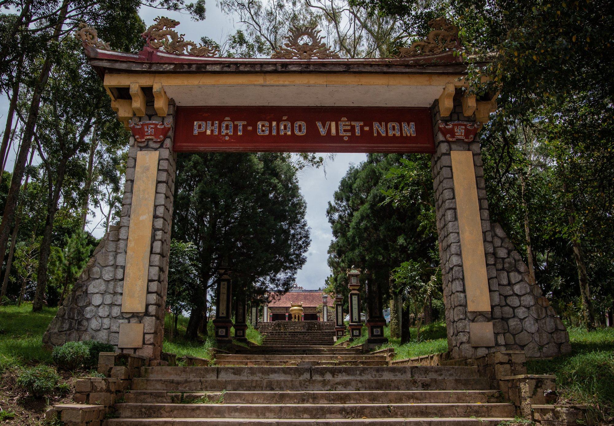 Linh Son Pagoda Dalat Vietnam