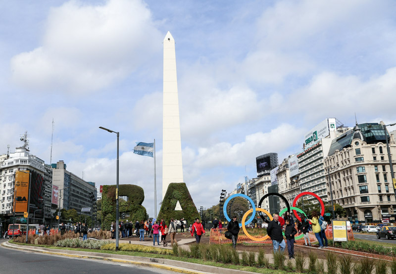 Buenos Aires Olympics Monument