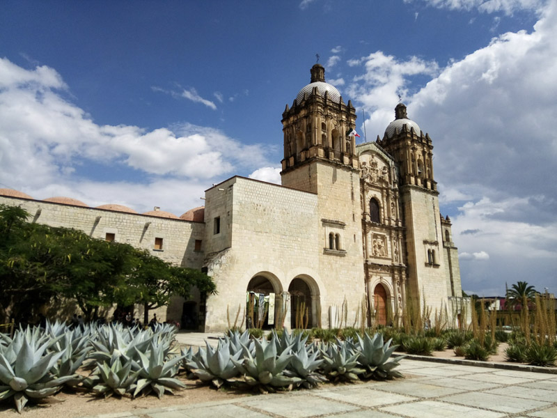 Cathedral in Oaxaca, Mexico