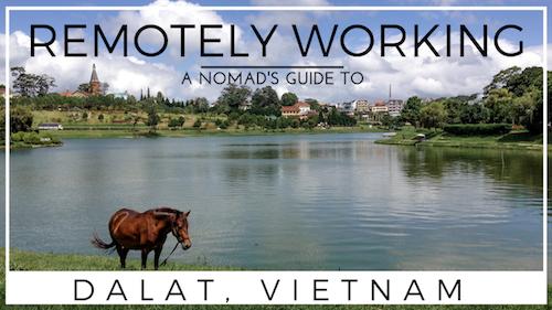 Living in Dalat City, Vietnam