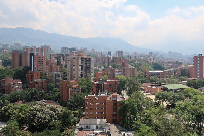 Medellin Skline