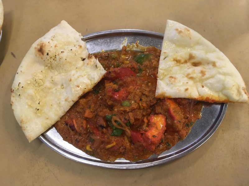 Curry and Naan, eating Local Hawker Food in Penang