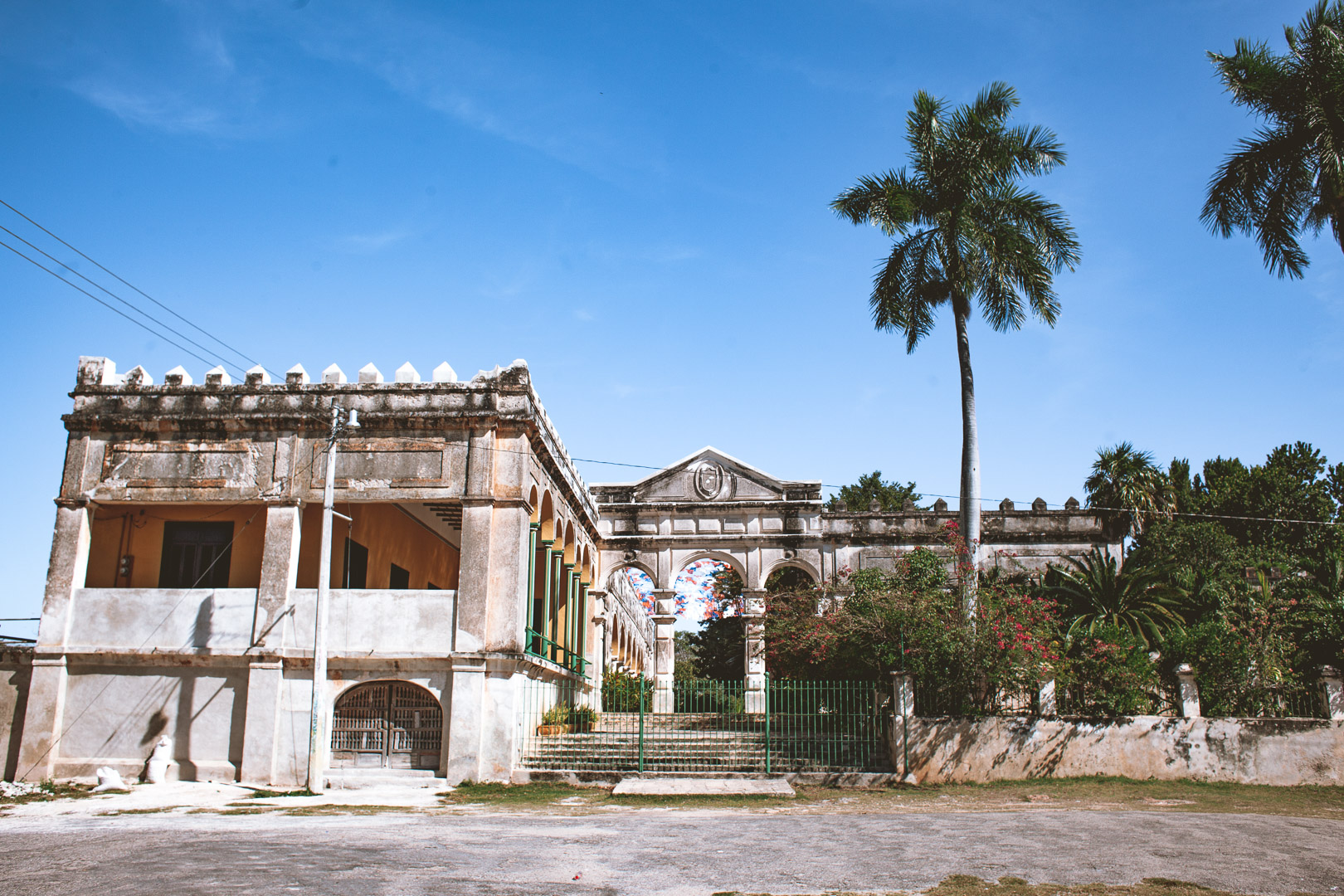 abandoned hacienda outside of Merida