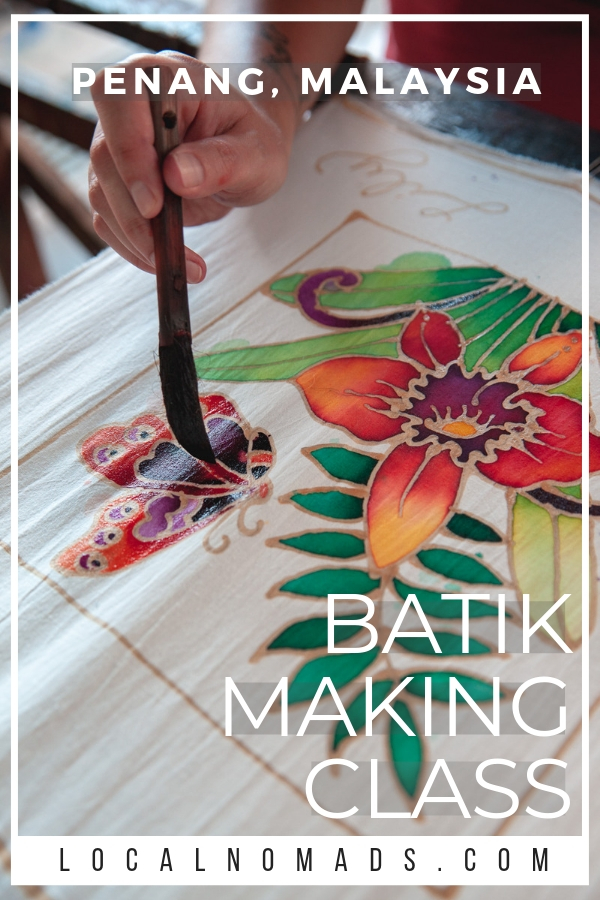 Take a Batik Painting Class at the Craft Batik Factory in Penang, Malaysia